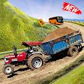 Heavy Tractor Trolley Cargo Simulator 3d Truck icon