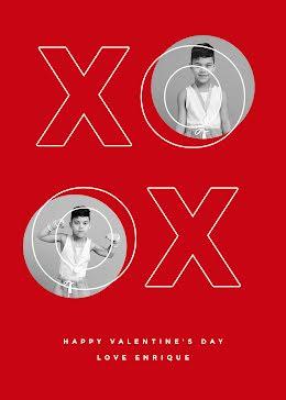 XO Enrique - Valentine's Day Card item