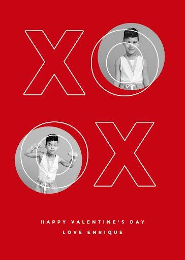 XO Enrique - Valentine's Day Card Template