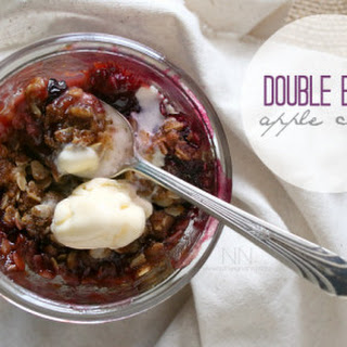 Double Berry Apple Crisp