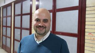 Juan Carlos Camacho, en el IES Al-Ándalus