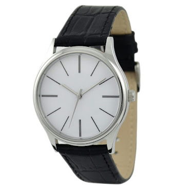 簡約長條紋手錶