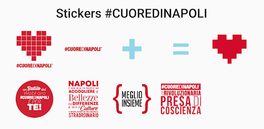 Stickers #CUOREDINAPOLI APK