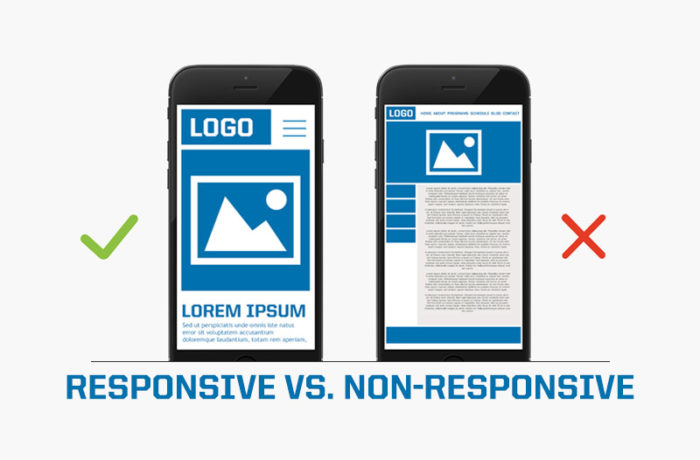 Lack of Responsive Design | Liainfraservices