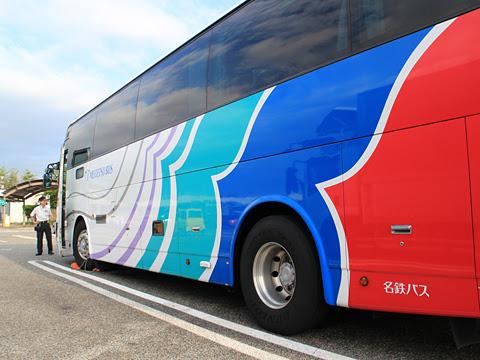 名鉄バス「名古屋~新潟線」 2701 米山SAにて その3