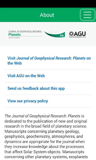 JGR: Planets