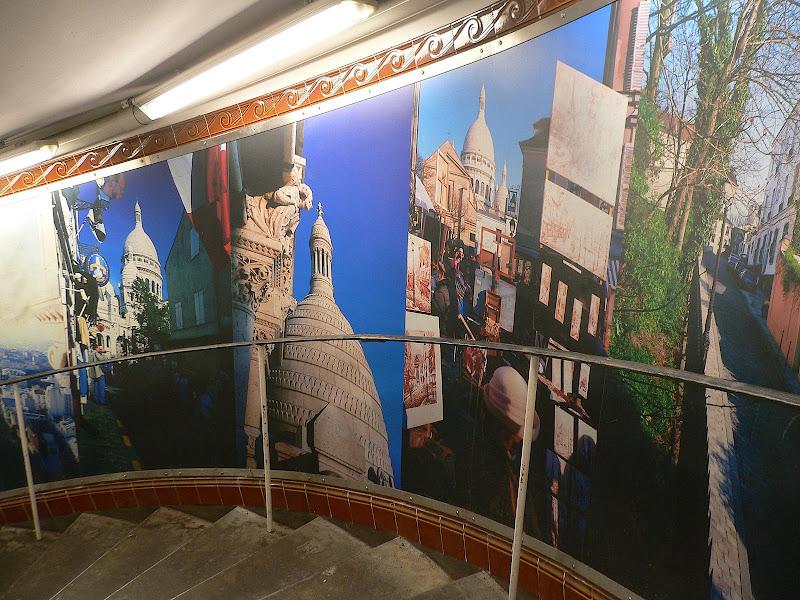 Mural, Abbesses Metro