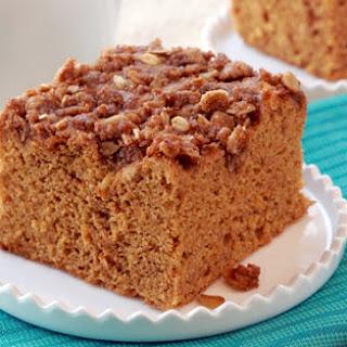 Healthy Pumpkin Coffee Cake Recipe