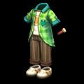 緑のサマージャケット