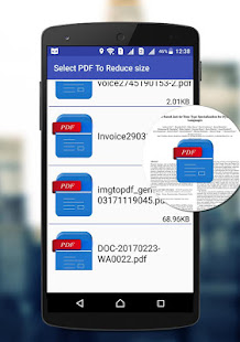 Compress pdf files size apps on google play screenshot image ccuart Images
