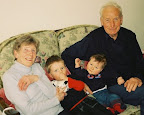 Dorothy and Frank with Sean and Finn in April 2005