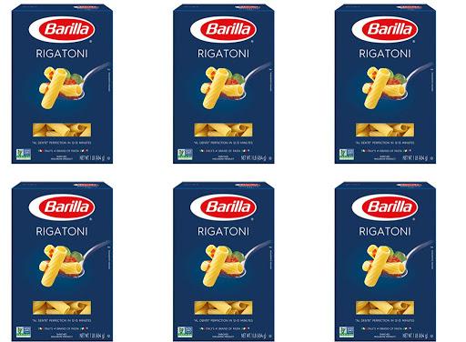 Barilla Pasta Rigatoni 1lb Box 12-Pack Only $9.77 Shipped on Amazon | Just 81¢ Each