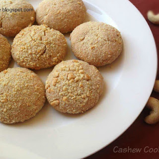 Cashew Cookies Recipe