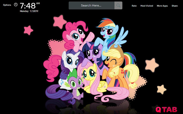 My Little Pony Wallpapers New Tab Theme