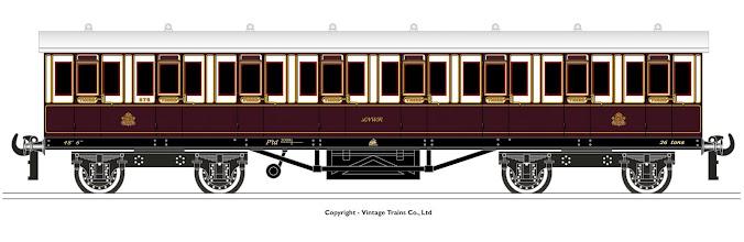 Photo: LNWR 3rd Class