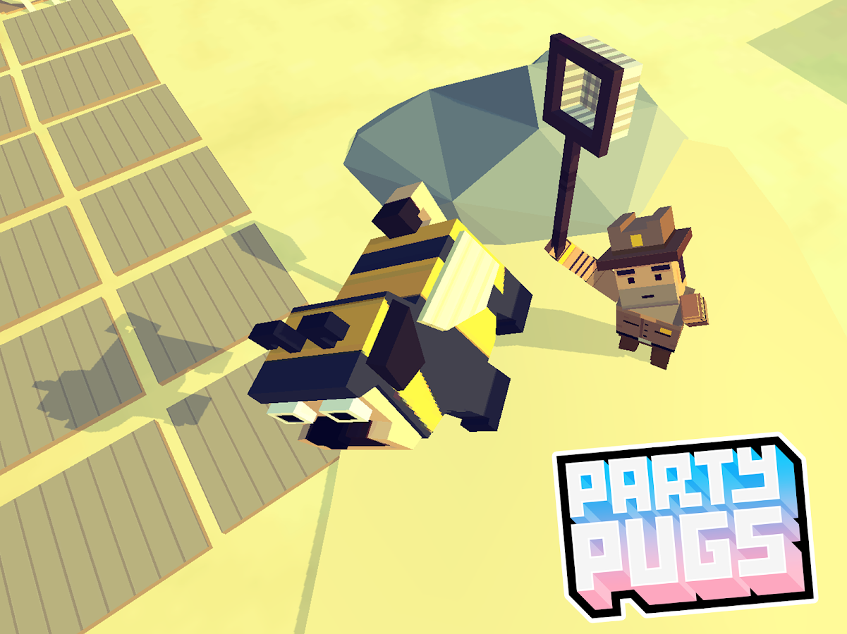 Party Pugs: Beach Puzzle GO!- screenshot