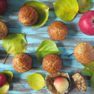 Apple Muffins with Soy Candy Bar Recipe