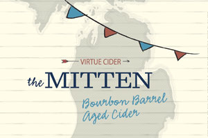 Logo of Virtue Cider The Mitten