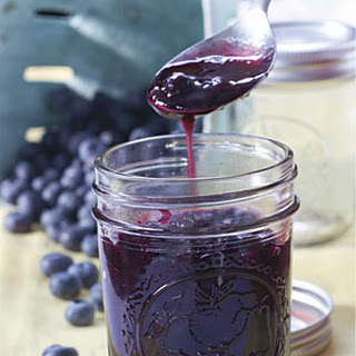 Blueberry Syrup.