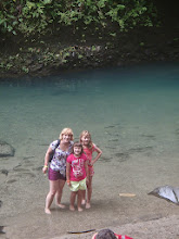 Photo: Enjoying the cool water at the La Fortuna waterfall