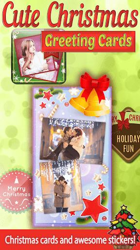 可爱聖誕卡片