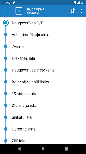 Riga Transport - timetables 6.4.1 screenshots 2