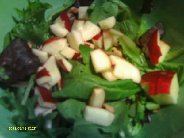 This Is What My Harvest Salad Looked Like.  Thank You For The Post.  It Was Yummy With Jane's Roast Chicken.
