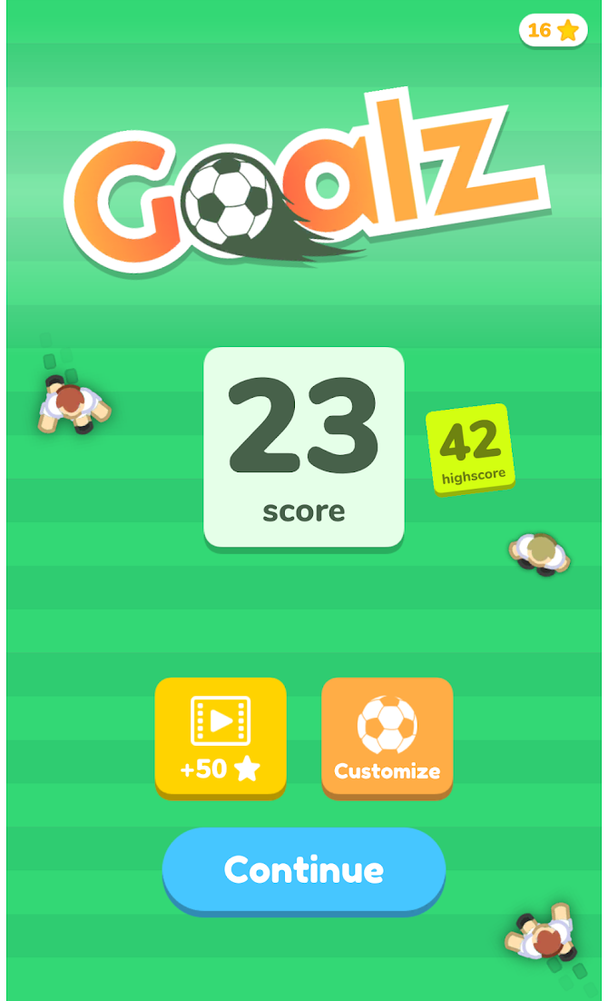 Goalz Android 4