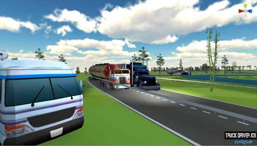 Truck Driver Job  captures d'écran 1