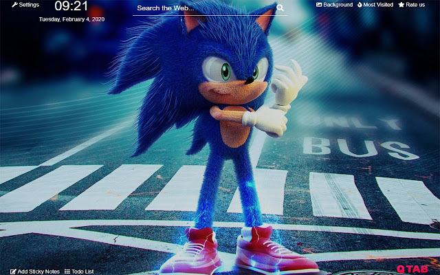 Sonic The Hedgehog Wallpapers New Tab Hd