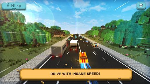 Traffic Craft: Asphalt Highway Racing & Driving 1.1 screenshots 1