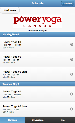 Power Yoga Canada Burlington