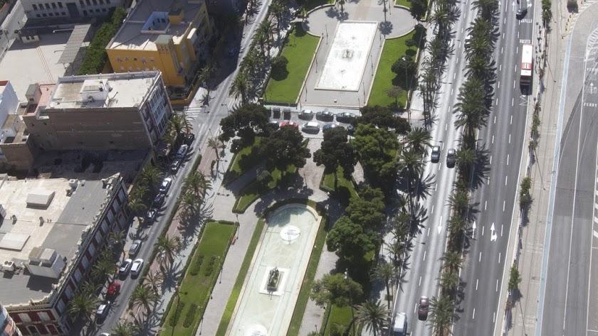 La Vía Parque es una de las zonas que tendrán nueva iluminación.