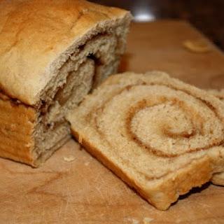 Maple Oat Bread with Cinnamon Swirl
