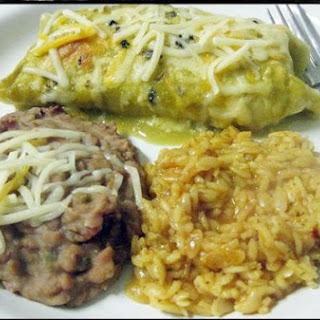 Heather's Chicken Enchiladas.
