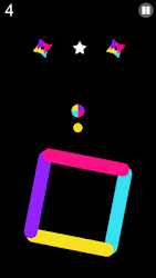 Color Ball Bounce Switch - love balls rise up!