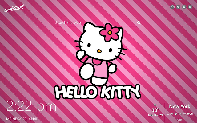 Hello Kitty HD Wallpapers New Tab Theme