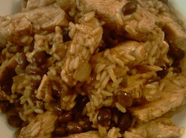 Chicken With Black Bean's And Rice Recipe