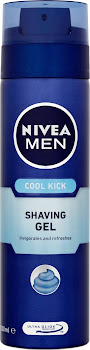 Nivea Men Shaving Gel - Cool Kick, 200ml
