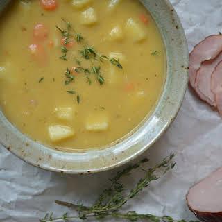 Polish Split Pea Soup {Grochówka}.