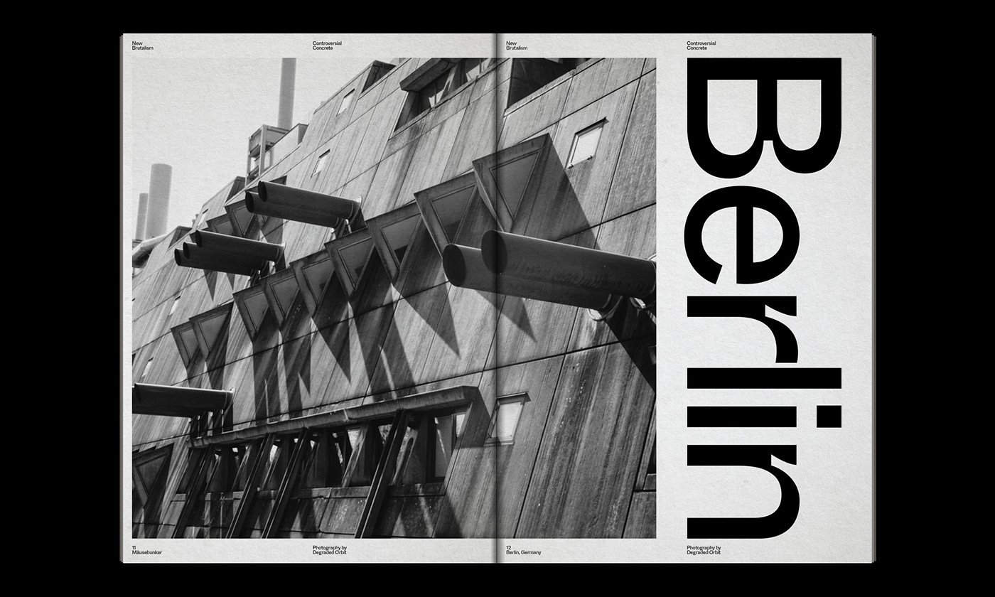 Editorial Design : New Brutalism Controversial Concrete 10