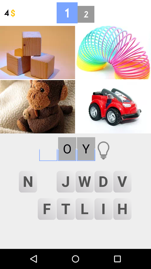4 Pictures 1 Word- screenshot
