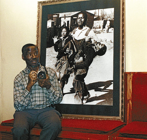 Sam Nzima's photograph of Hector Pieterson after he was shot in 1976 became the worldwide image that defined the June 16 student uprising.
