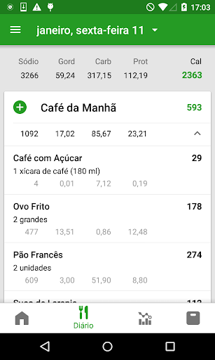 Contador de Calorias FatSecret screenshot