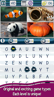 Worchy Picture Word Search