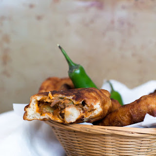 Shredded Pork Empanadas with Adobo Aioli Dip