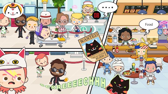 Miga Town: My Hospital MOD (Unlock All Scenes/Characters) 2