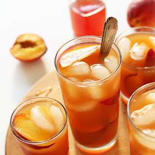 Perfect Peach Iced Tea.