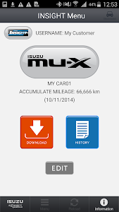 IsuzuConnectWorldService screenshot 1