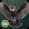 Flying Owl Simulator 3D icon